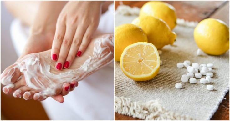 Ванночки для ног с лимонной кислотой
