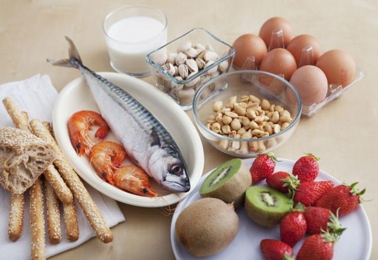 Выбор продуктов при гипоаллергенной диете