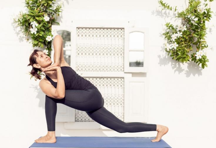 Упражнения йога для того чтобы руки похудели