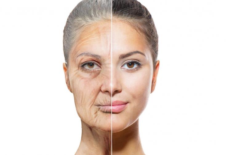 Эластичность и тургор кожи пациента. Плотная, напряженная кожа