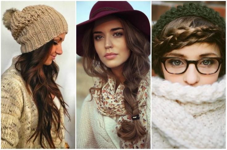 Красота под шапкой: домашние укладки волос в зимний сезон