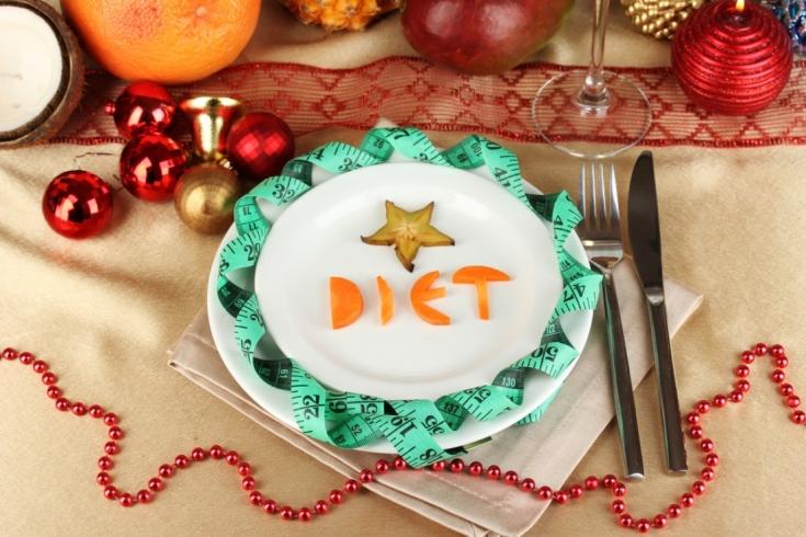 Новогодняя диета: секреты, как не набрать лишний вес в зимние праздники