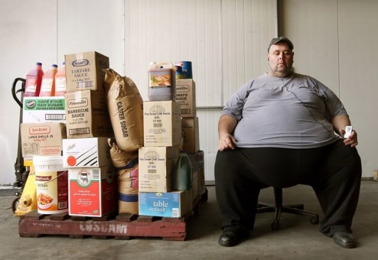 Мужчина похудел на 200 кг