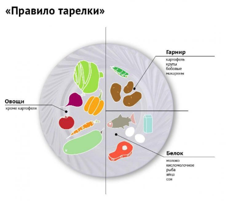 Правило Тарелки Для Похудения.