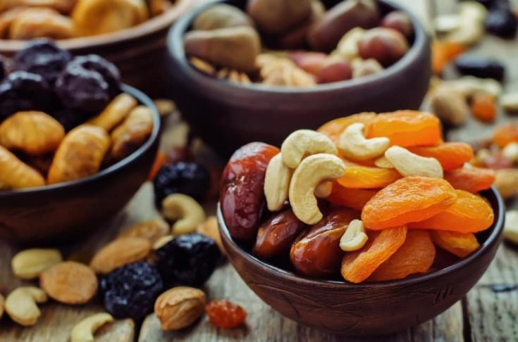 Смесь из сухофруктов: прекрасная альтернатива свежим плодам