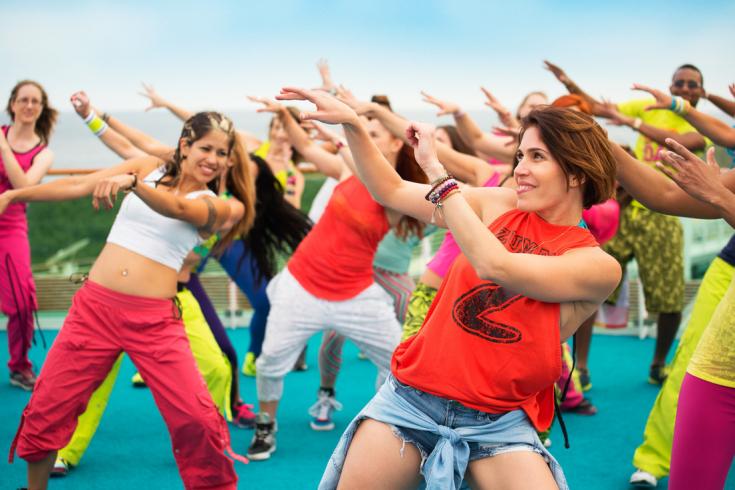 танцы зумба для похудения видео бесплатно