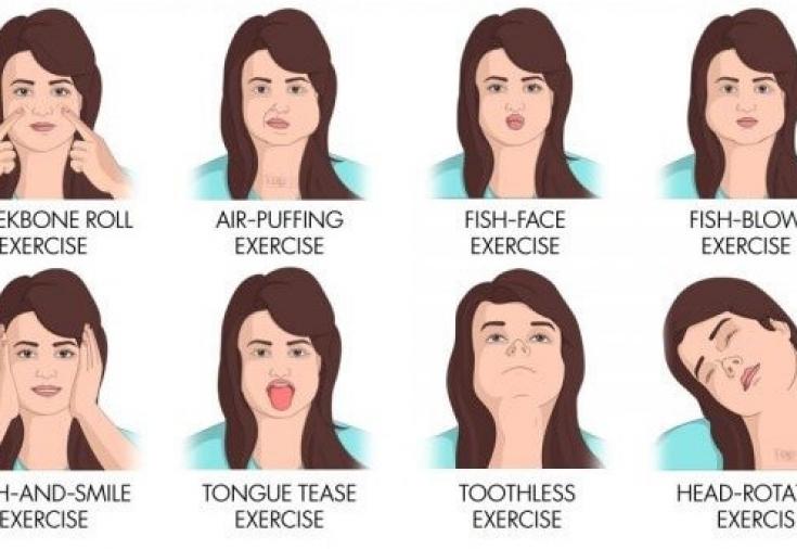 Как сделать худые щеки пухлыми: упражнения – народные рецепты
