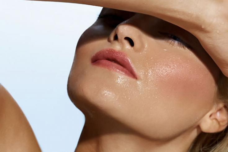 уход за жирной кожей лица летом