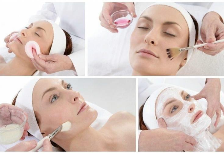 Подготовка к химическому пилингу лица