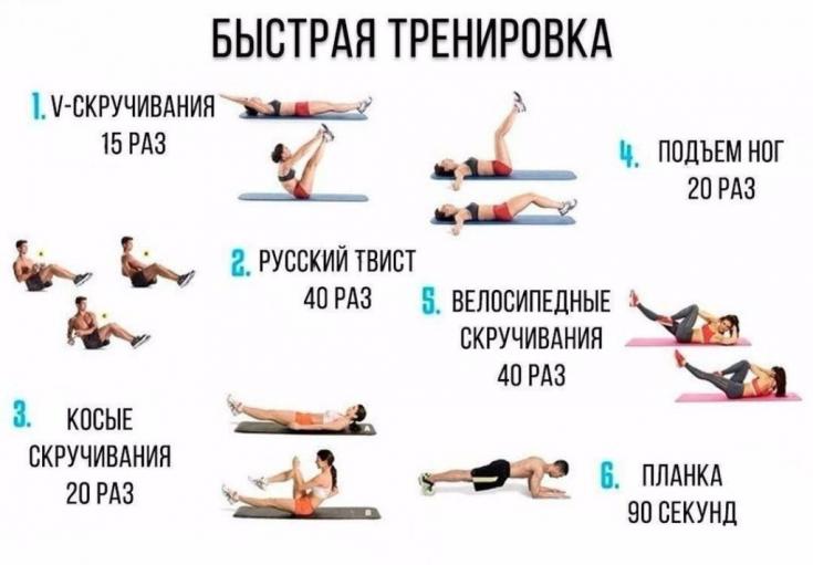Как начать упражнения для похудения дома