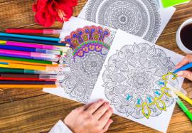Мандалы антистресс: как священные рисунки стали модным трендом