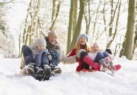 Отдых с детьми зимой: безопасность превыше всего