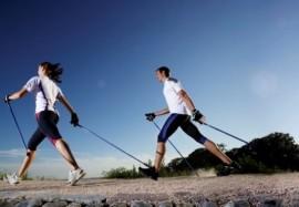 скандинавская ходьба и оздоровление организма